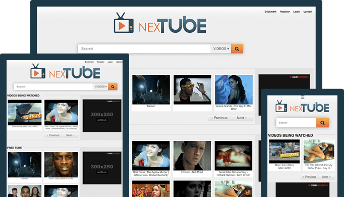 NexTube Preview